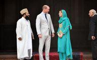 عروس باحجاب ملکه انگلیس در پاکستان! + تصاویر