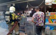 انفجار در یک مجتمع تجاری در میدان پونک + عکس