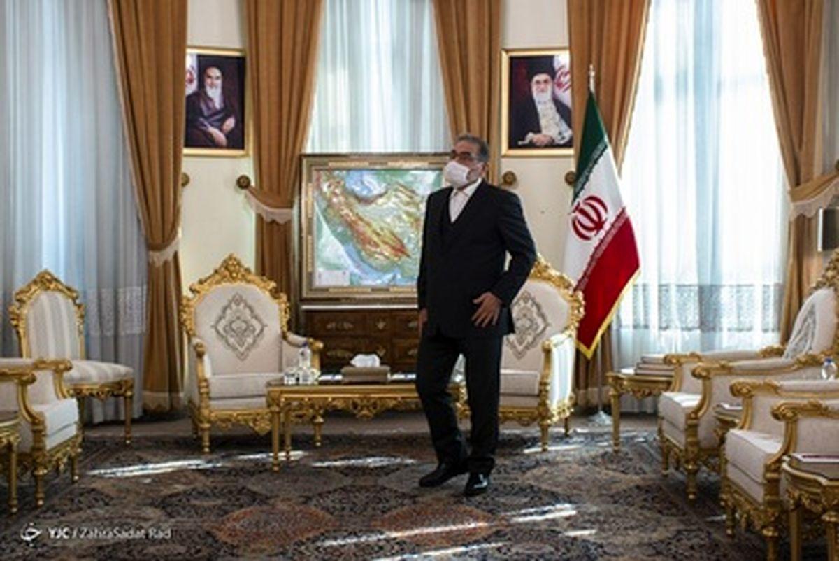 تصاویر دیده نشده از دیدار وزیرخارجه عراق با دبیر شورای عالی امنیت ملی