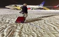 تصویری دیدنی از الناز شاکردوست دربازگشت از قطب شمال