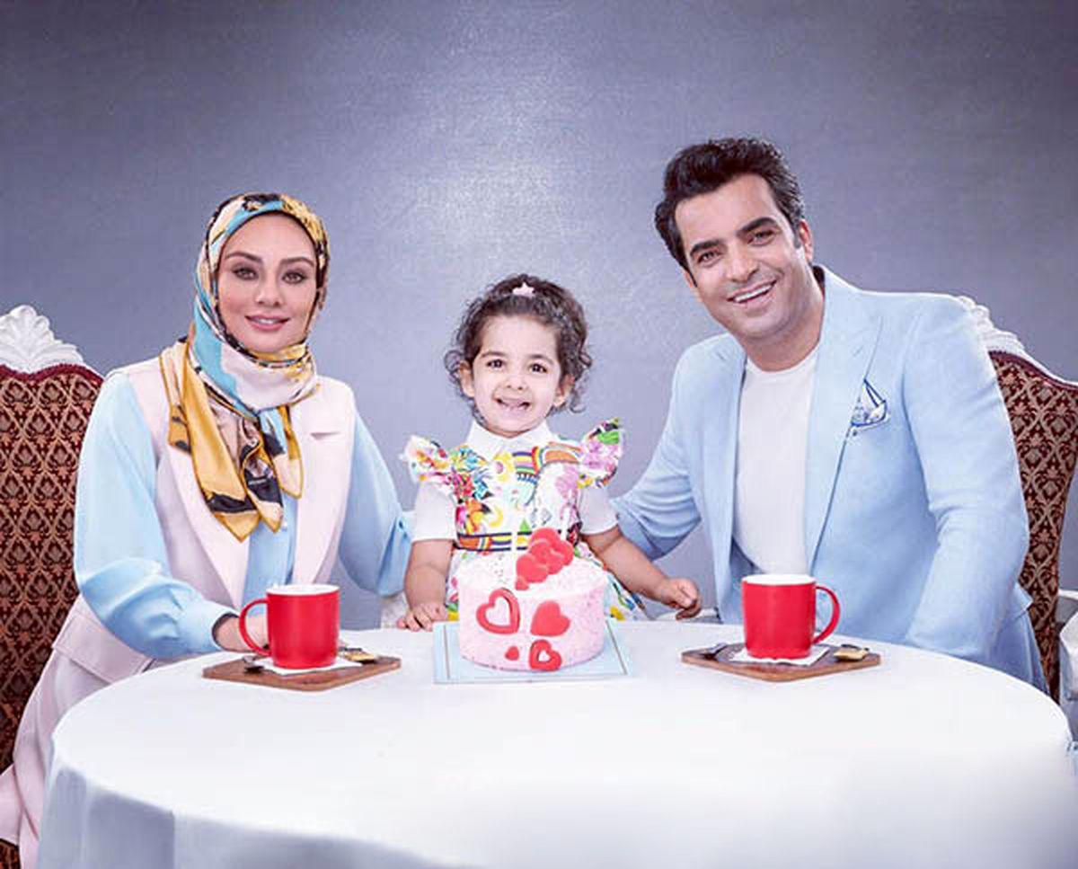 اولین تصویر یکتا ناصر و عشاقش بعد از اتمام سریال دل