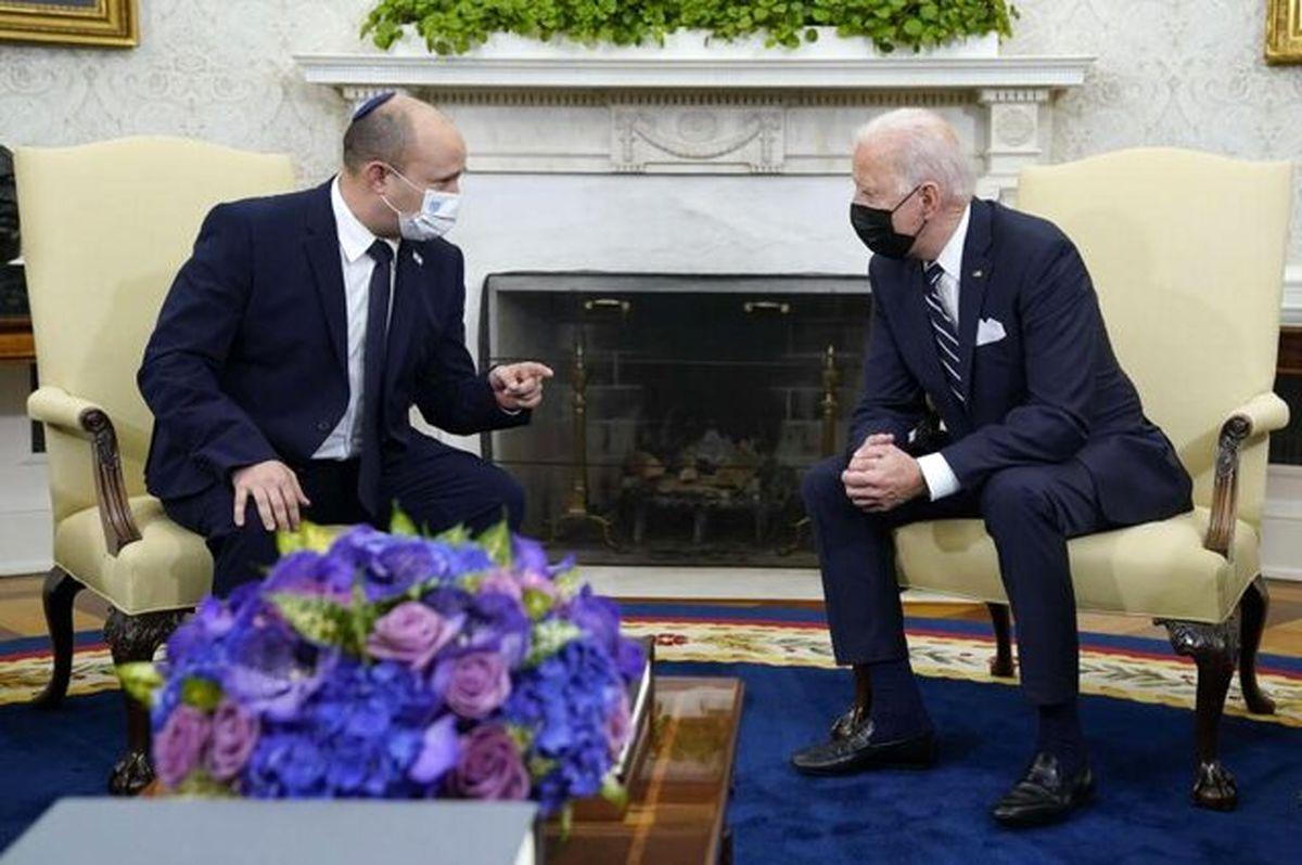 نتانیاهو چُرت زدن بایدن را مسخره کرد + فیلم
