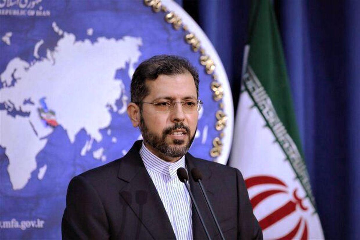 گزارش توییتری سخنگوی وزارت امور خارجه از دیدار و گفتوگو با مقامات عراقی