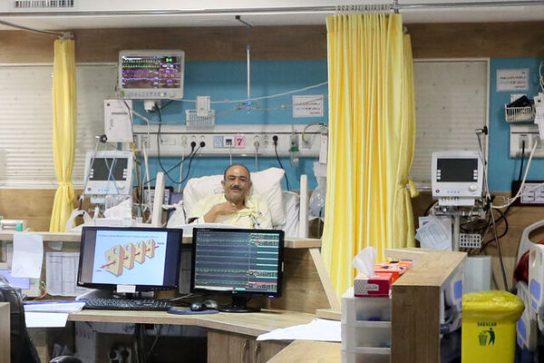 صحبت های مهران غفوریان بعد از عمل جراحی