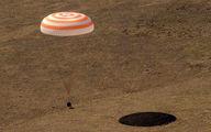 بازگشت نخستین فیلمسازان فضانورد روس به زمین