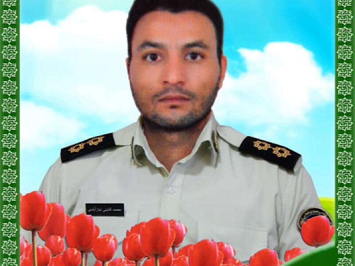 یک افسر پلیس در مشهد به شهادت رسید