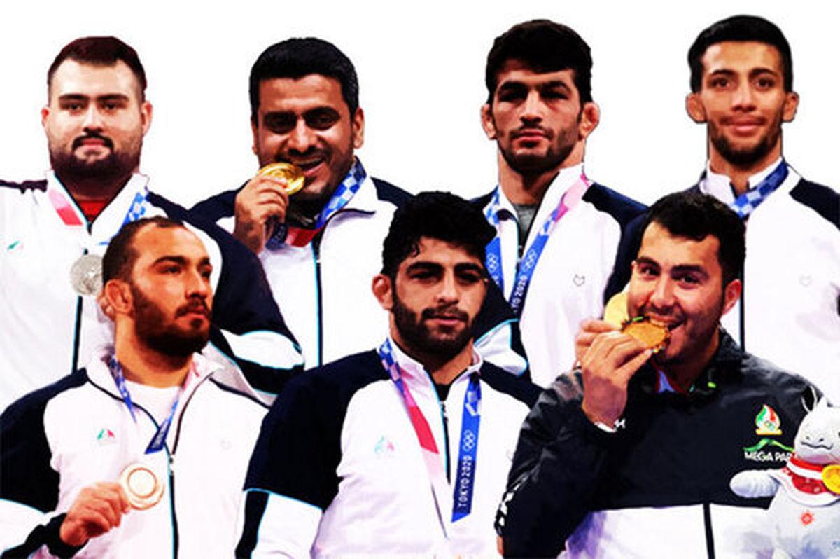 ترکیب فیلمهای سینمایی و ورزشکاران ایرانی در المپیک