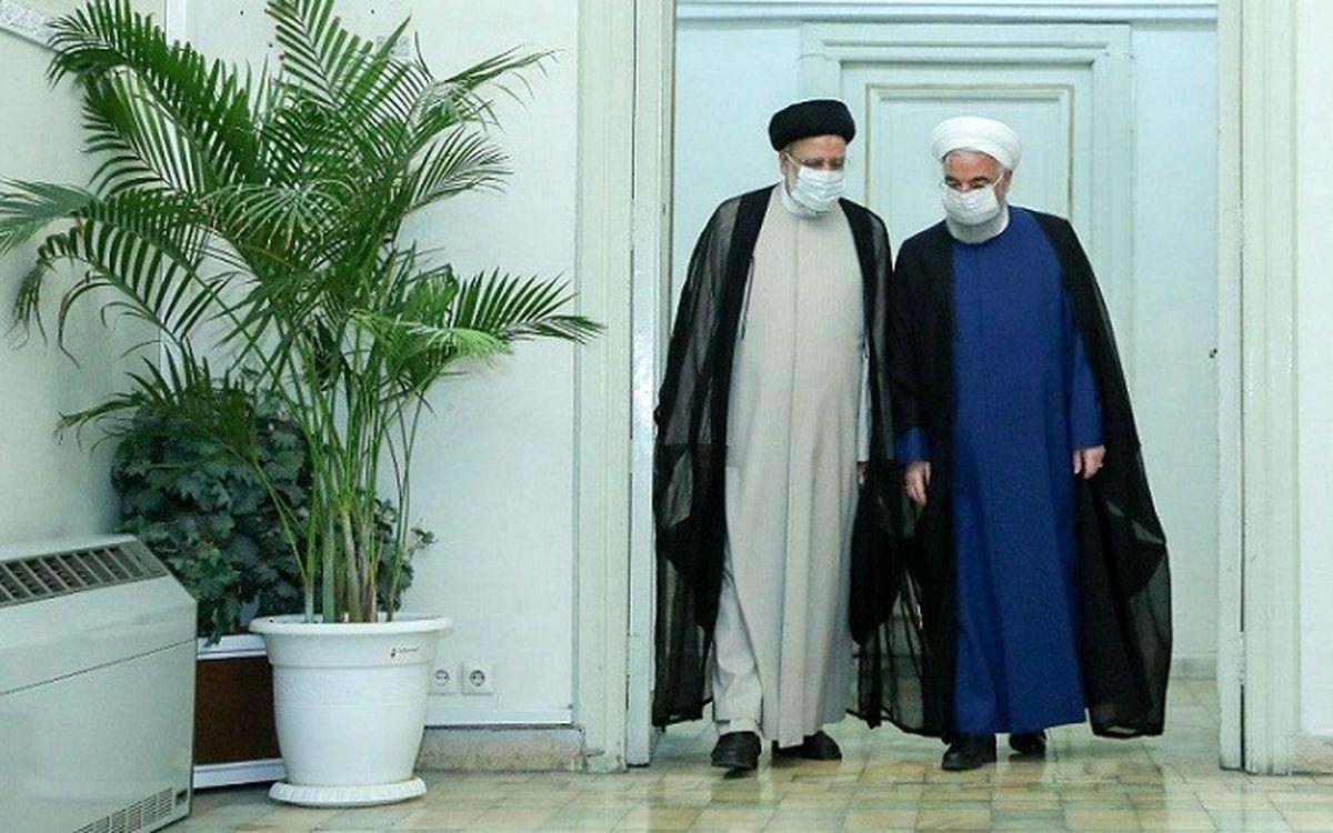 در دیدار روحانی با رئیسی بعد از انتخابات چه گذشت؟ + جزئیات