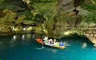 عکس: دومین غار بزرگ آبی ایران کجاست؟