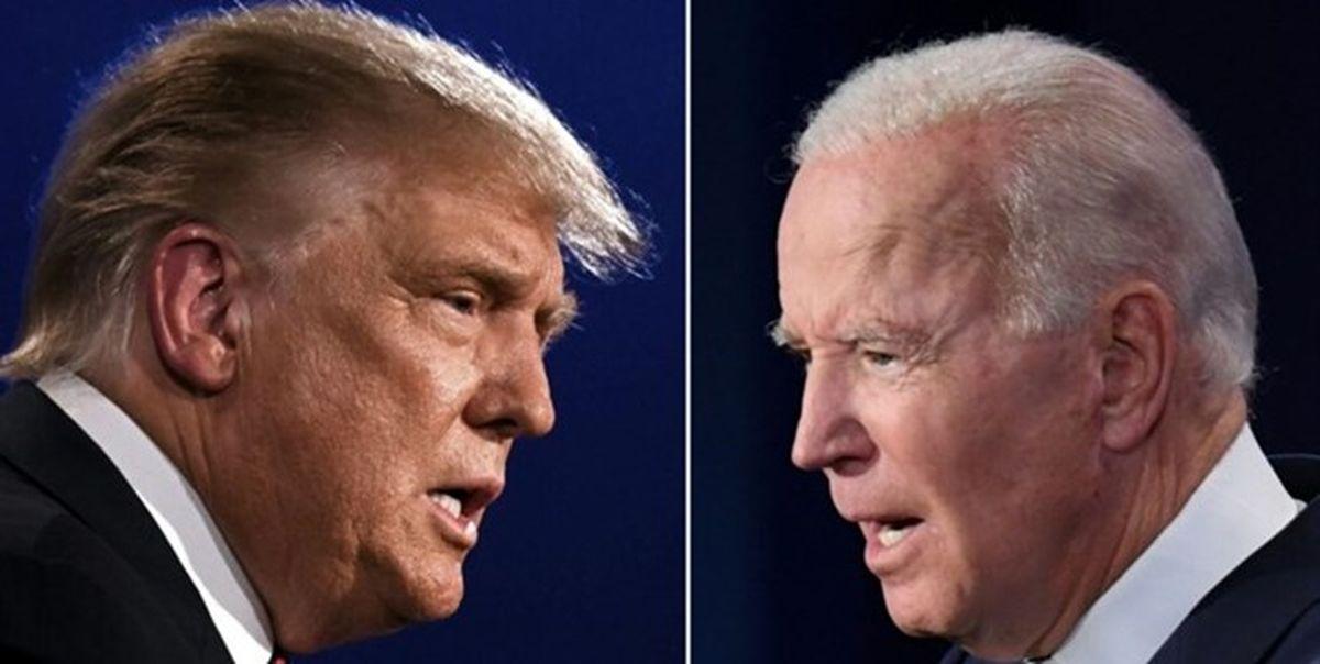 ترامپ، «جو بایدن» را در انتخابات 2024 شکست میدهد