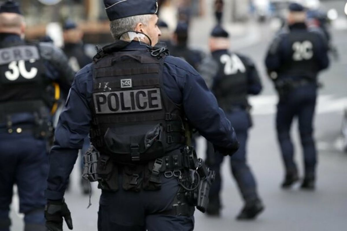 تظاهرات پلیس فرانسه در پایتخت این کشور