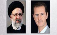 پیام بشار اسد برای ابراهیم رئیسی