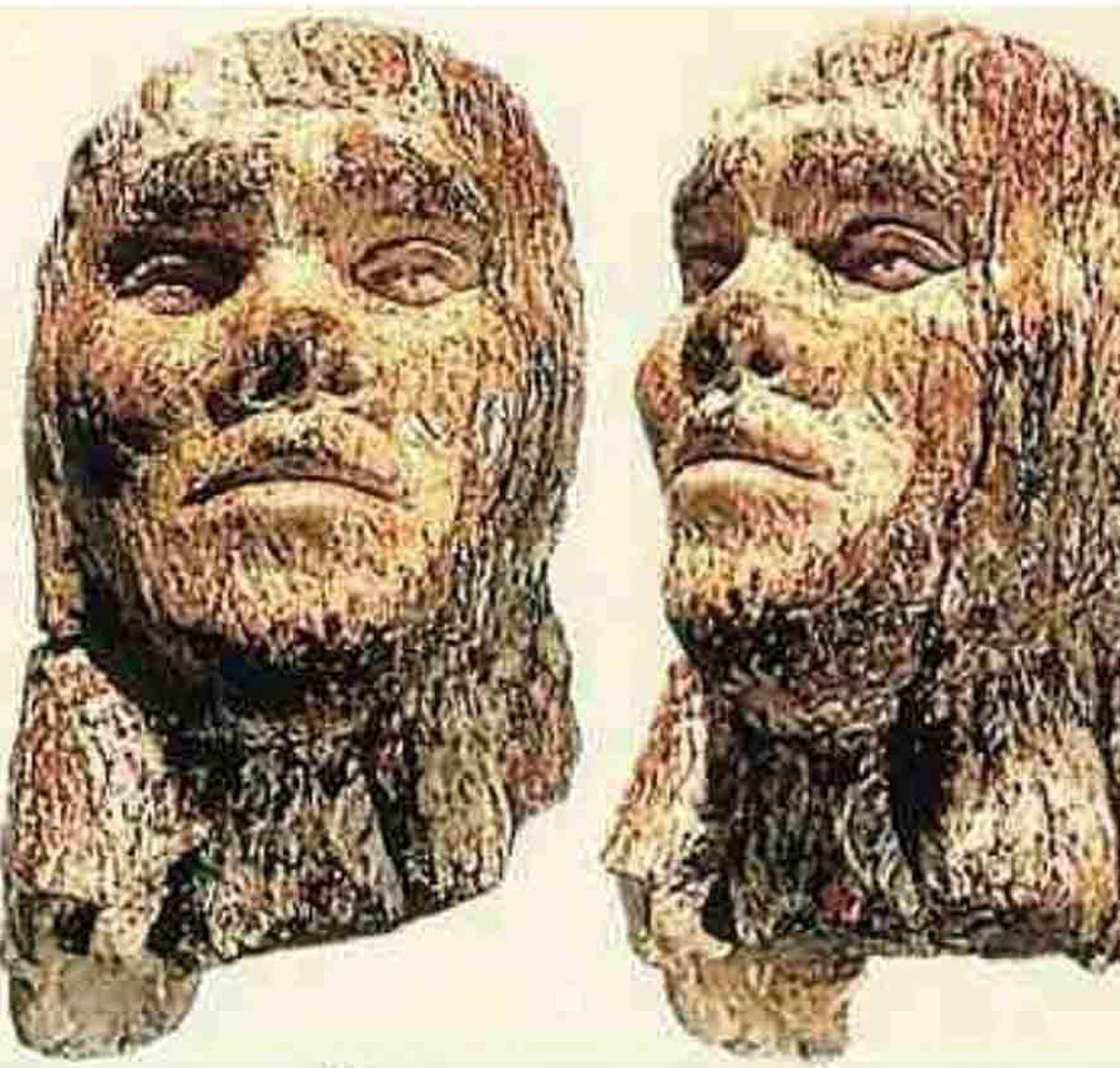 قدیمىترین کنده کاری از چهره انسان بر روی عاج ماموت