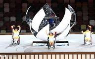 مراسم افتتاحیه پارالمپیک و رژه کاروان ایران؛تصاویر