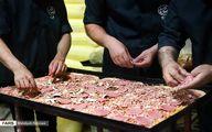تصاویری از نذری ۵۰۰ عدد پیتزا در میان کودکان نیازمند