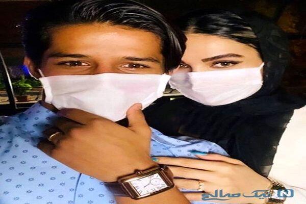 عکس دیده نشده از خواهر زن مدل مهدی قائدی + عکس