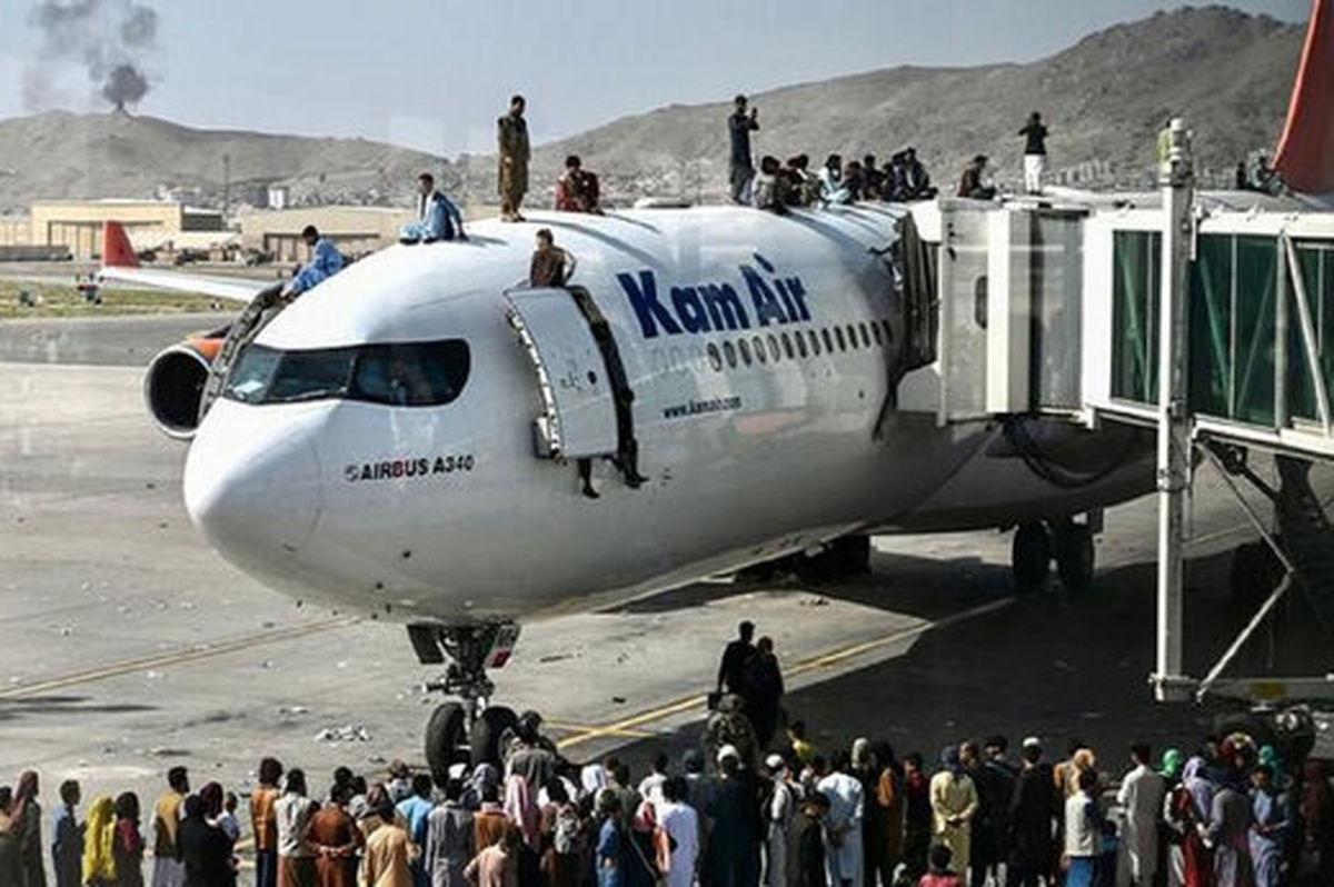 آمادهباش سربازان آمریکایی از ترس حملات به فرودگاه کابل