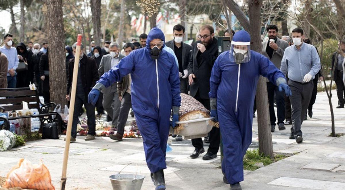 آخرین آمار کشته شدگان کرونا در ایران 13 مرداد + اینفوگرافی