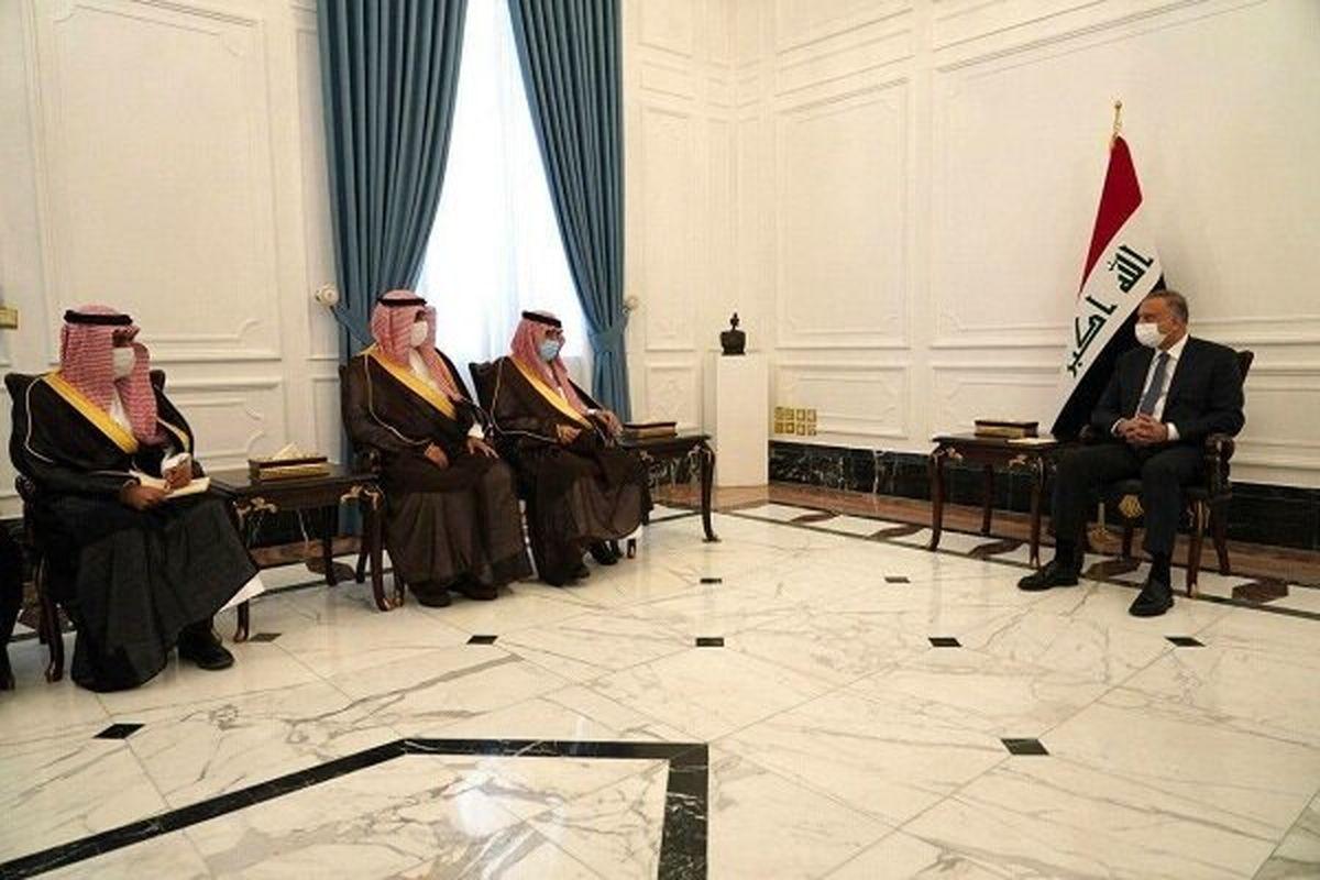رایزنی نخست وزیر عراق با مقام سعودی