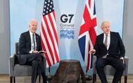 پشت پرده دیدار جانسون و بایدن درباره ایران + جزئیات