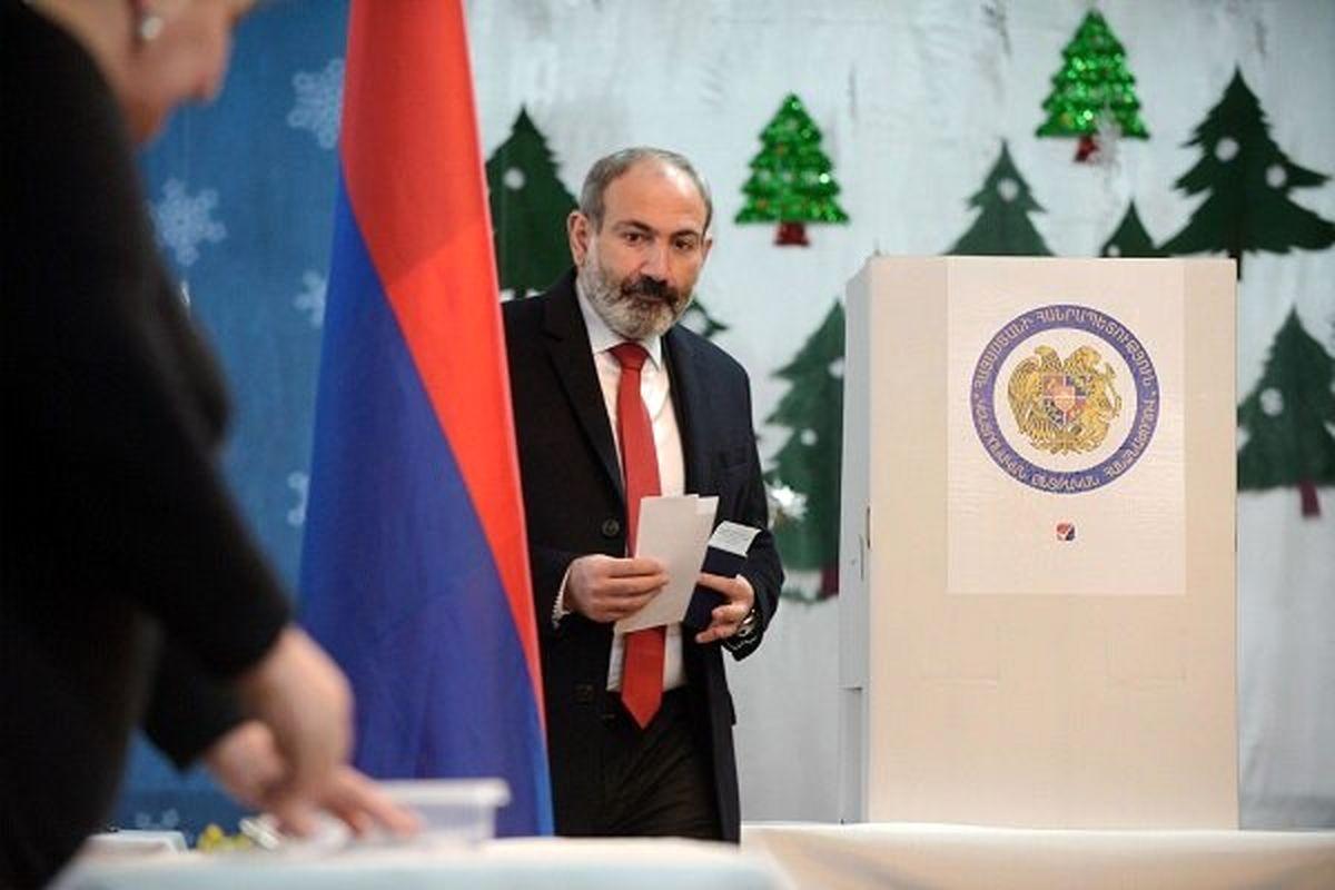 برگزاری انتخابات پارلمانی در ارمنستان