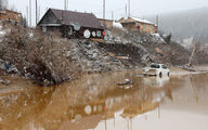 شمار قربانیان شکست سد در روسیه به ۱۵ تن افزایش یافت + عکس