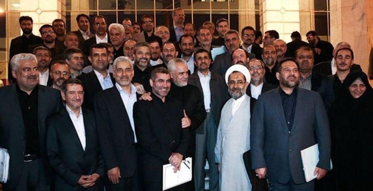 سونامی احمدی نژادیها