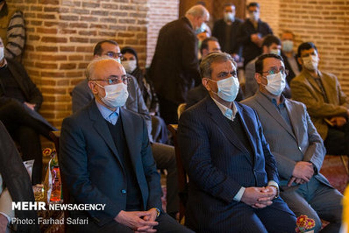 اولین تصاویر از افتتاح نمایشگاه دائمی دستاوردهای سازمان انرژی اتمی