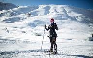 تصاویری از اسکیبازی زن ایرانی حاضر در المپیک زمستانی