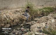 وضعیت اسفناک بهداشت کودکان در کوت عبدالله+عکسها