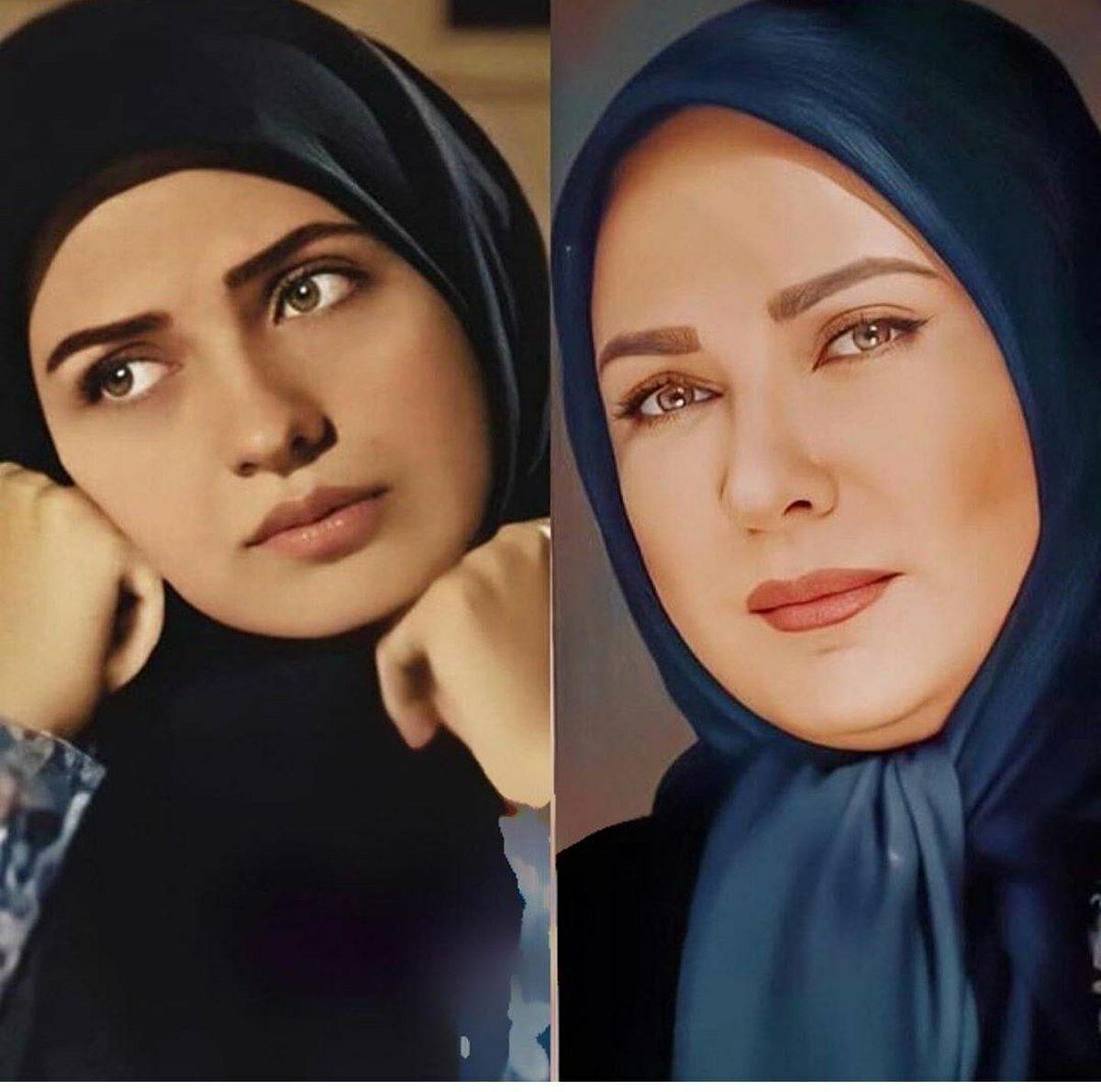 عکس دیده نشده لعیا زنگنه بازیگر معروف زن در گذر زمان