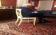 فرش ایرانی در خانه برنی سندرز + عکس