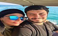 جواد عزتی و همسرش در سفر دریایی! + عکس