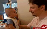 تعجبکاربران ازحرفزدن نوزاد3ماهه+عکس