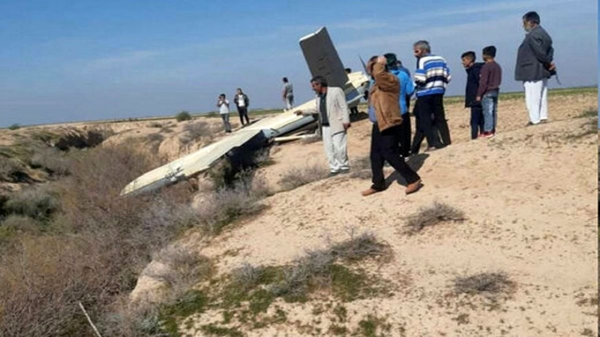 جزئیات جدید از فرود اضطراری یک فروند پهپاد در آران و بیدگل + عکس