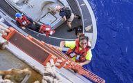 پایان ۵ ماه سرگردانی ۲ زن در اقیانوس/تصاویر