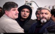 تشییع پیکر عظیم جوانروح با حضور هنرمندان و سینماگران/گزارش تصویری