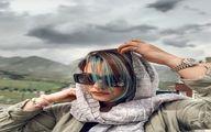 دنیا مدنی با رنگ مو خاص و جدید+ عکس