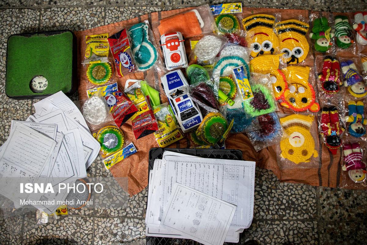 درس و آموزش به کودکان کار در خیابانهای شهر دزفول+عکسها