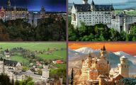 یکی از زیباترین قلعه های جهان در آلمان