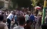 گزارش صداوسیما از اعتراضات در تبریز