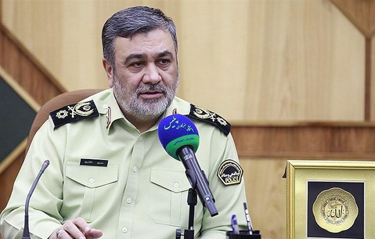 خظ و نشان سردار اشتری: هرگونه تجمع قبل از آغاز تبلیغات انتخاباتی ممنوع