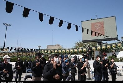 عزاداری ۲۸ صفر در میدان هفتتیر تهران