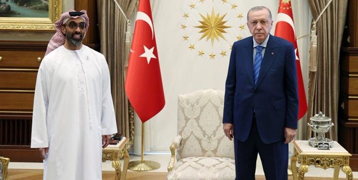 امارات پیش به سوی ایران ؛ واسطه ترکیه