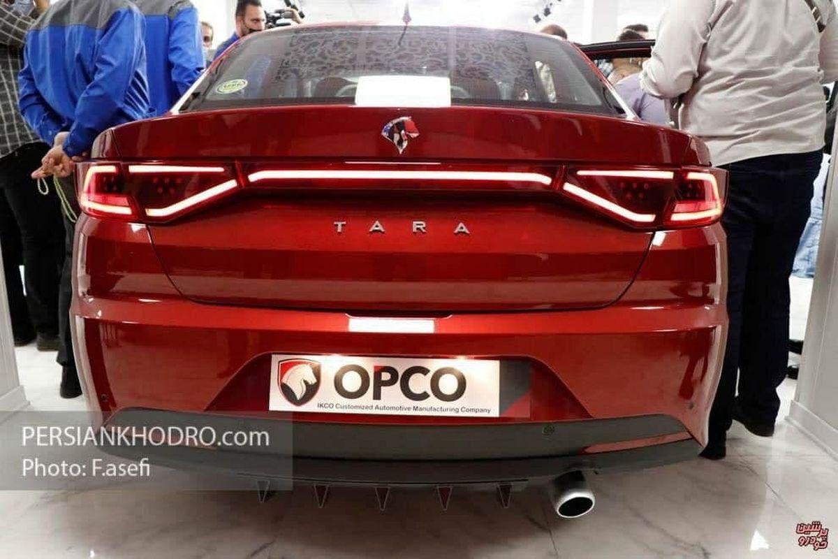 تصویر خاص از مدل سفارشی جدیدترین مدل ایران خودرو