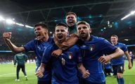 خوشحالی جنجالی ایتالیایی ها را بعد از صعود ببینید + فیلم