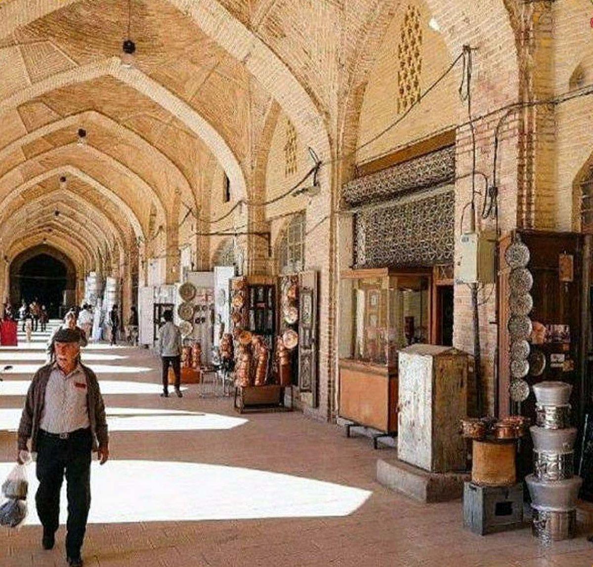 بزرگترین راسته بازار ایران کجاست؟