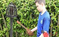 یک کودک ده ساله در ایرلند، شمشیر قرن هجدهمی را کشف کرد!