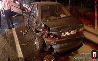 تصاویر فاجعه هولناک در یکی از اتوبان های تهران