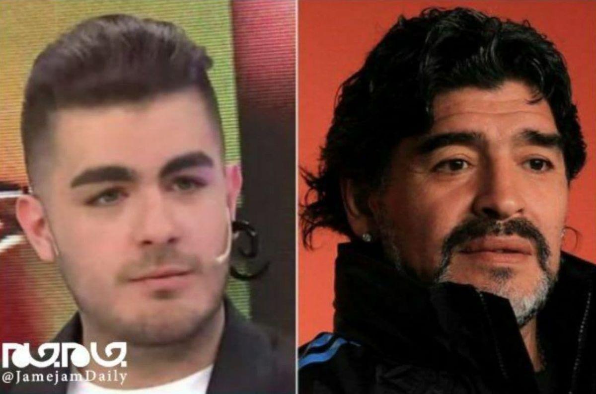 ادعای جدید پسر ۱۹ ساله و نبش قبر مارادونا+عکس